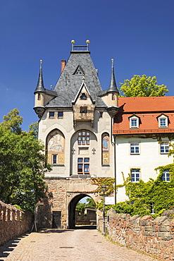 Torhaus Tower at Burgberg Hill, Meissen, Saxony, Germany, Europe