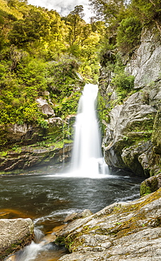 Wainui Falls, Wainui Falls Track, Golden Bay, Tasman, South Island, New Zealand, Pacific
