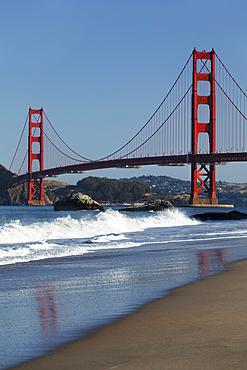 Golden Gate Bridge, San Francisco Bay, California, USA