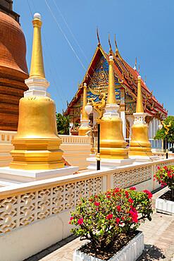 Wat Putta Mongkon, Phuket Town, Phuket, Thailand, Southeast Asia, Asia