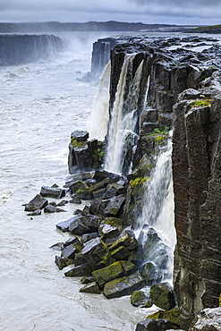 Selfoss waterfall in Jokulsargljufur canyon, Iceland, Europe
