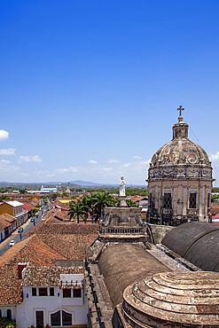 Skyline of the city of Granada, Nicaragua, Central America