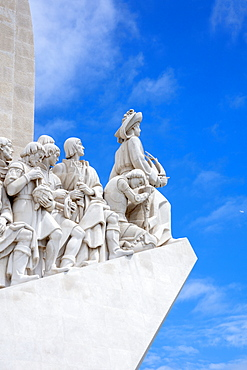 The Discoveries Monument (Padrao dos Descobrimentos) on the Tagus river in Belem, Lisbon, Portugal, Europe