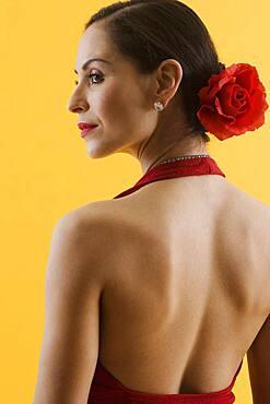 Hispanic female dancer