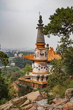 Forbidden City temple spires, Beijing, China