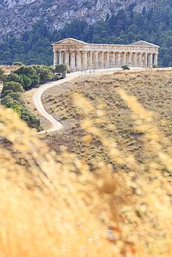 Temple of Segesta, Calatafimi, province of Trapani, Sicily, Italy, Europe