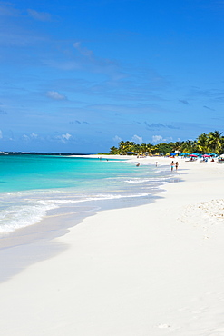 World class Shoal Bay East beach, Anguilla, British Oversea territory, West Indies, Caribbean, Central America