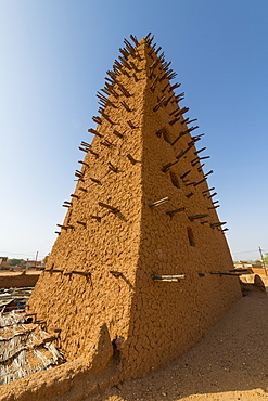 Grand Mosque, UNESCO World Heritage Site, Agadez, Niger, West Africa, Africa