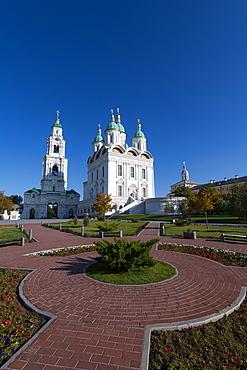 Assumption Cathedral, Kremlin of Astrakhan, Astrakhan Oblast, Russia, Eurasia