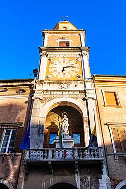 Modena town hall, Unesco world heritage site Modena, Italy