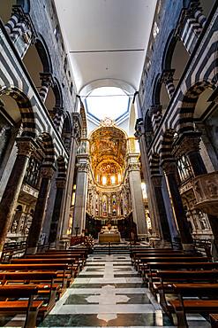 Cattedrale di San Lorenzo, Unesco world heritage site Genoa, Italy