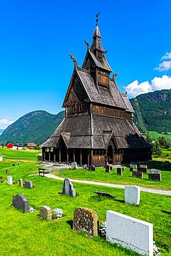 Hopperstad Stave Church, Vikoyri, Norway