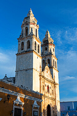 Our Lady of the Immaculate Conception Cathedral, Unesco world heritage site the historic fortified town of Campeche, Campeche, Mexico