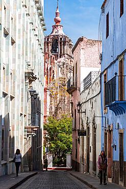 Auditorium of the University of Guanajuato, UNESCO World Heritage Site, Guanajuato, Mexico, North America