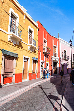 Historic center of the UNESCO World Heritage Site, Guanajuato, Mexico, North America