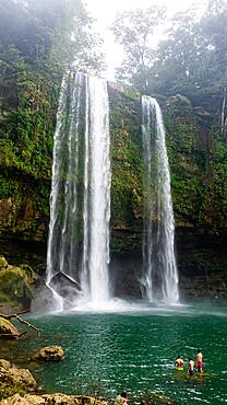 Misol Ha waterfall, Chiapas, Mexico, North America
