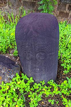 Alok Ikom Stone Monoliths, Alok, Nigeria, West Africa, Africa