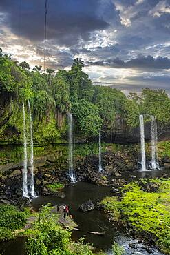 Agbokim waterfall, Ikom, Nigeria, West Africa, Africa
