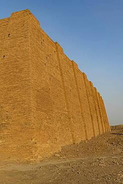 Ziggurat, ancient city of Ur, The Ahwar of Southern Iraq, UNESCO World Heritage Site, Iraq, Middle East - 1184-5783