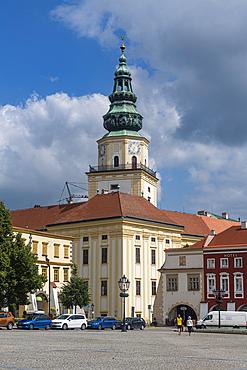 Unesco site Gardens and Castle at Kromeriz, Czech Republic