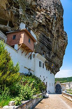 Svyato-Uspenskiy Peshchernyy Monastry, Bakhchysarai, Crimea, Russia