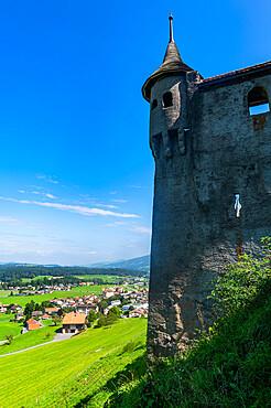 Gruyere castle, Fribourg, Switzerland