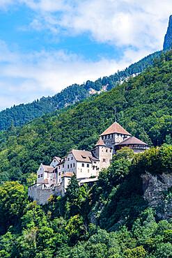 Vaduz castle, Vaduz, Liechtenstein, Switzerland