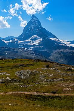 The Matterhorn, Zermatt, Valais, Swiss Alps, Switzerland, Europe