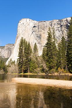 El Capitan, Yosemite National Park, UNESCO World Heritage Site, California, United States of America, North America