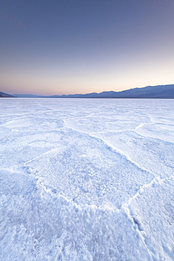 Salt flats, Death Valley National Park, California, United States of America, North America