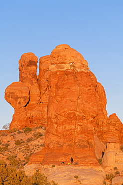 Elephant Butte, Arches National Park, Moab, Utah, United States of America, North America