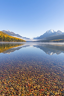 Bowman Lake, Glacier National Park, Montana, United States of America, North America