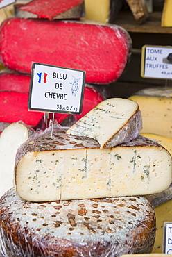Cheese, Aix en Provence, Bouches du Rhone, Provence, Provence-Alpes-Cote d'Azur, France, Europe