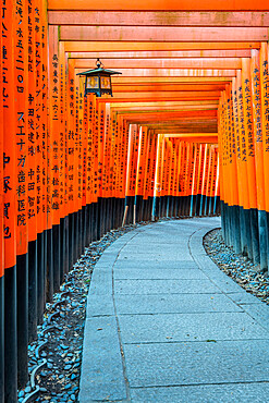 Fushimi Inari Taisha shrine and torii gates