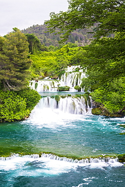 Waterfalls at Krka National Park, Croatia, Europe