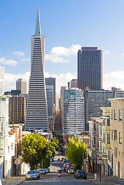 Trans America Pyramid, San Francisco, California, United States of America, North America