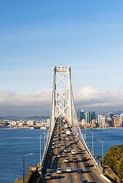 Oakland Bay Bridge, San Francisco, California, United States of America, North America