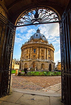 Radcliffe Camera, Oxford, Oxfordshire, England, United Kingdom, Europe