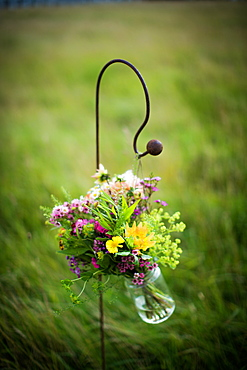 Bouquet in jar, United Kingdom, Europe