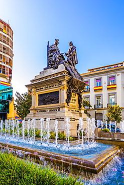 Plaza Isabel La Catolica, Granada, Andalucia, Spain, Europe