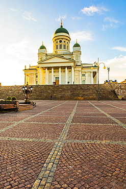 Helsinki Cathedral in Senate Square, Helsinki, Finland, Europe