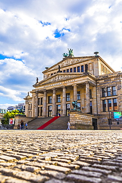 Konzerthaus Berlin on Gendarmenmarkt square in Berlin, Germany, Europe