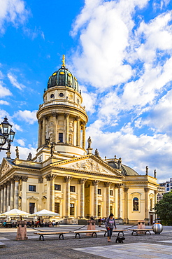 Deutscher Dom in Gendarmenmarkt square, Berlin, Germany, Europe