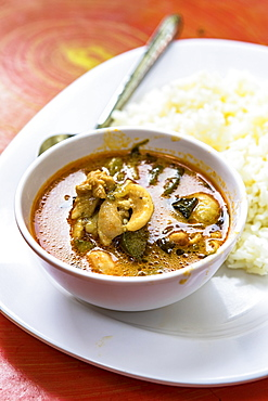 Thai Red Curry, Chiang Mai, Northern Thailand, Thailand, Southeast Asia, Asia