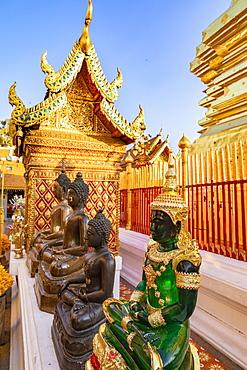 Wat Phra That Doi Suthep, Chiang Mai, Northern Thailand, Thailand, Southeast Asia, Asia