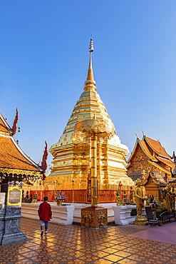 Wat Phra That Doi Suthep, Chiang Mai, Thailand, Southeast Asia, Asia