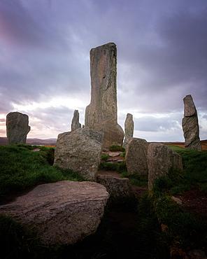 Callanish Standing Stones, Isle of Lewis, Outer Hebrides, Scotland, United Kingdom, Europe