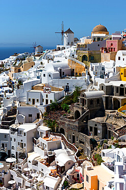 Oia, Santorini, Cyclades, Aegean Islands, Greek Islands, Greece, Europe