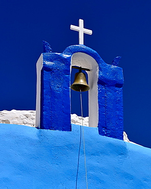 Oia Church, Oia, Santorini, Cyclades, Aegean Islands, Greek Islands, Greece, Europe