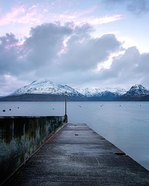 Sunrise at Elgol, Isle of Skye, Inner Hebrides, Scotland, United Kingdom, Europe